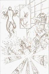 Generic Superhero Design work by Gary-ODD-Edmund