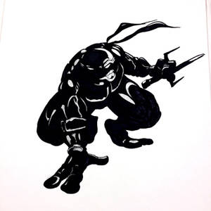 Shadow experiment with TMNT Raphael