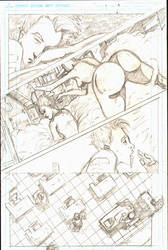 A Perfect Wonder pencils (CCP Comics) by Gary-ODD-Edmund