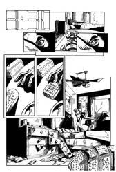 A Perfect Wonder pg 1 inks CCP COMICS by Gary-ODD-Edmund