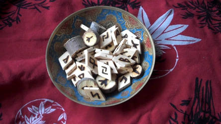 Bowl of Runes by Durkee341