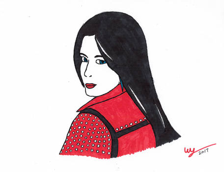 Ellie Valkyrie (Red)