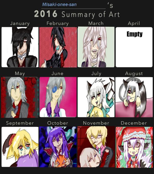 2016 Art Summary by Misaki-onee-san
