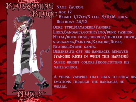 Zauron Blossoming blood reupload application