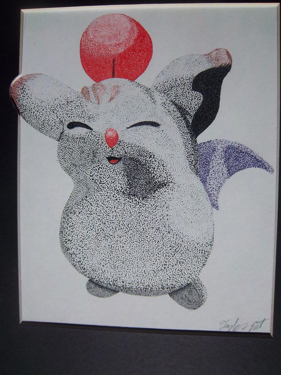 Moogle Stipple by YakasukiX