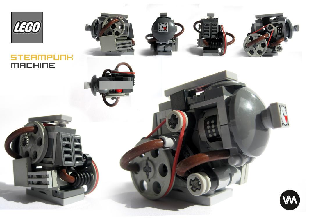 LEGO steampunk machine by IllOO