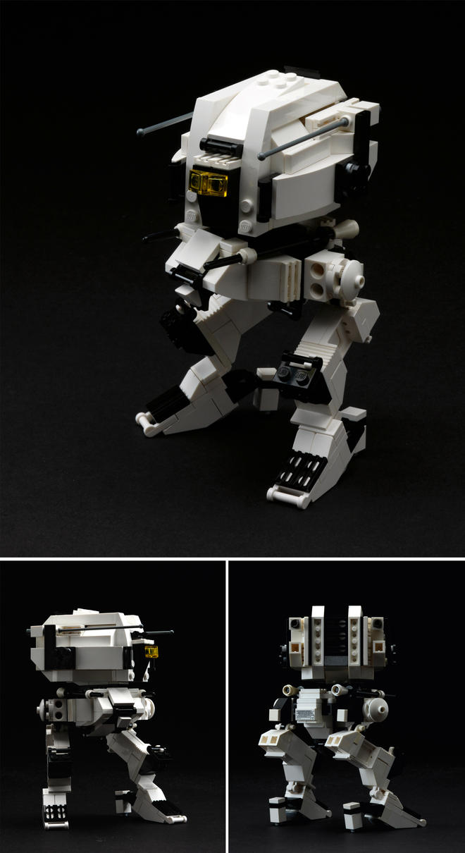 LEGO Assault Mecha 1 by IllOO