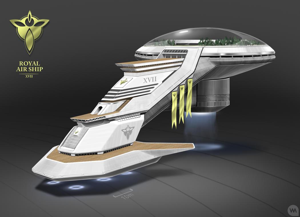 Royal Air Ship XVII by IllOO