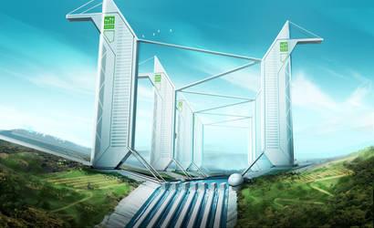 HORIZON - Airport Towers Alternate Version