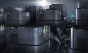 HORIZON - Fusion Reactor Farm by IllOO