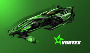 VORTEX PRIME - Hurricane Racing | Flux Edition