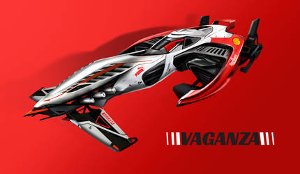 VAGANZA - Strive For Speed | White Arrow 6