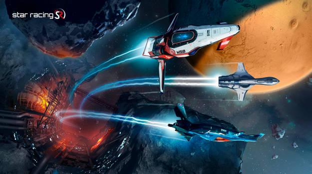 Star Racing - Asteroid-Race