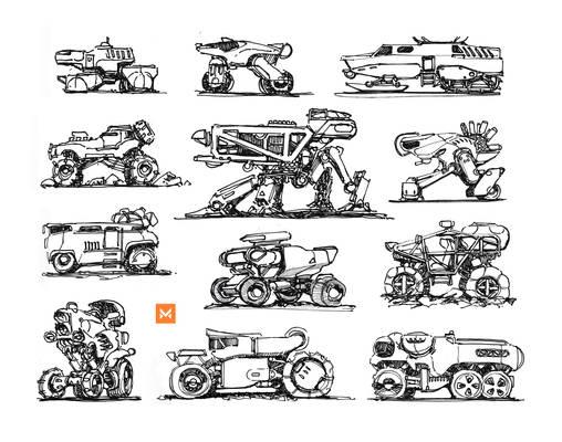 Various Vehicle Sideviews
