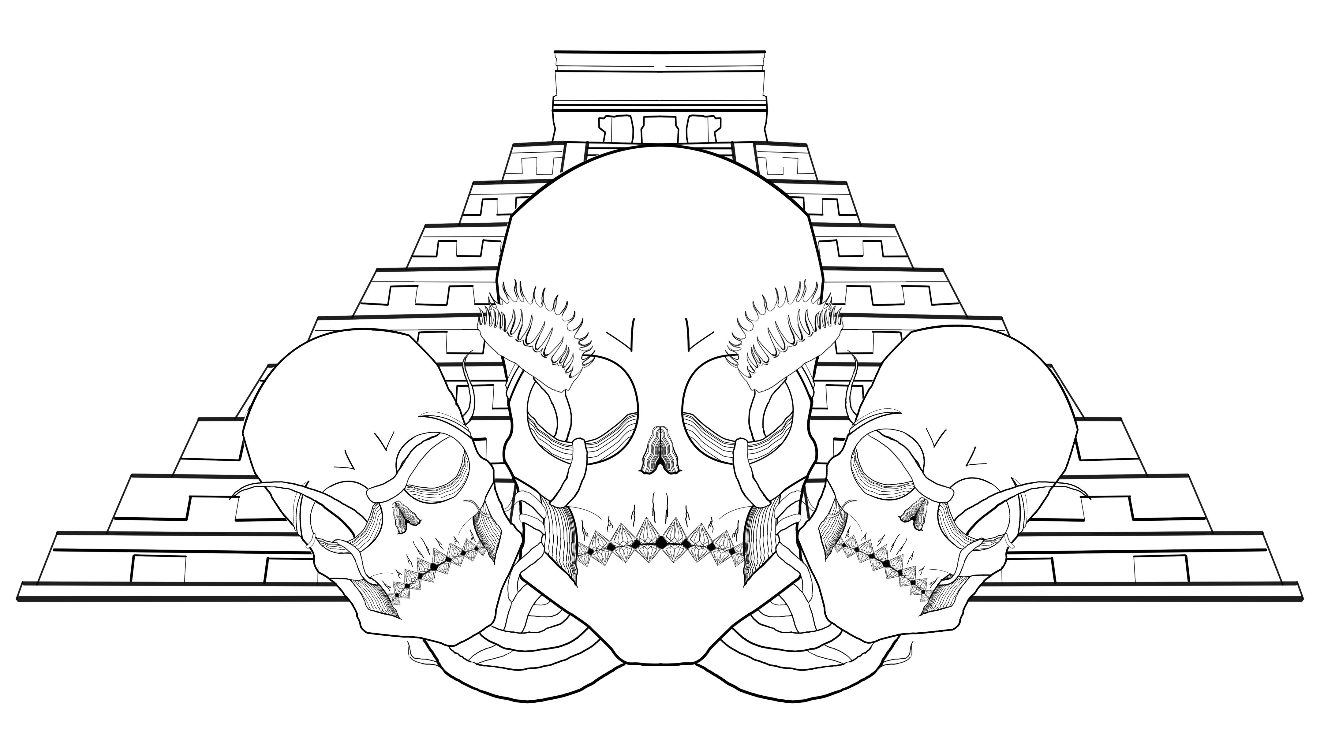Mayan Temple Design
