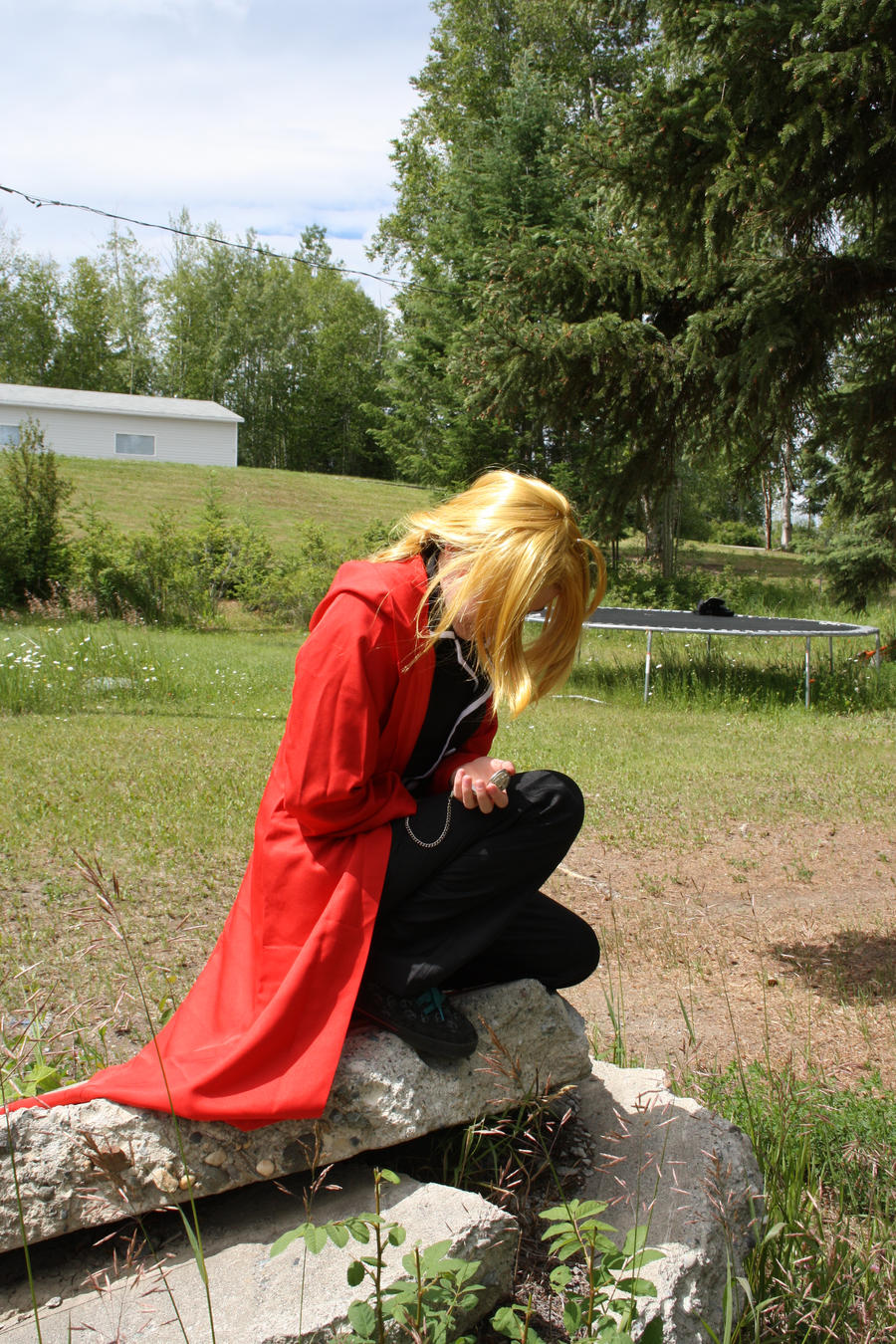 Enter Edward Elric by parodykids