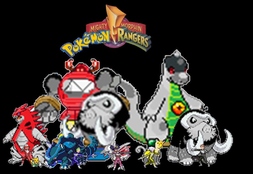 power rangers meet pokemon pictures