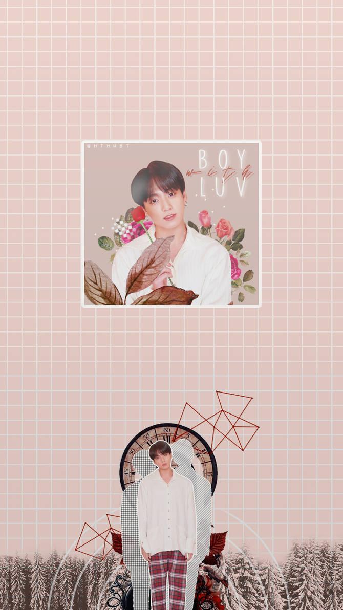 BTS Jungkook Lockscreen (Boy wiht Luv) #2