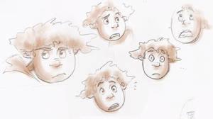 Wybie is fun to draw... by TobuIshi
