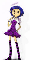 Coraline: No Angel by TobuIshi