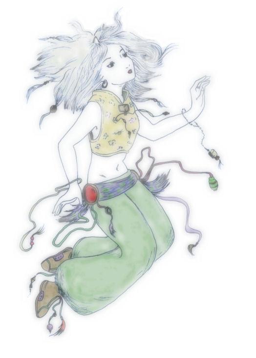 Shades of Amano - Eiko Carol by TobuIshi