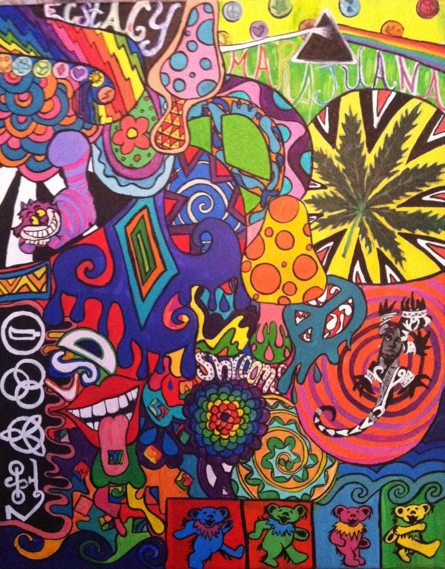 Psychedelic Drugs by emilyhrabovsky on DeviantArt