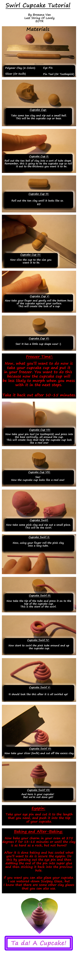 :: Swirl Cupcake Tutorial :: by TheYellowBee