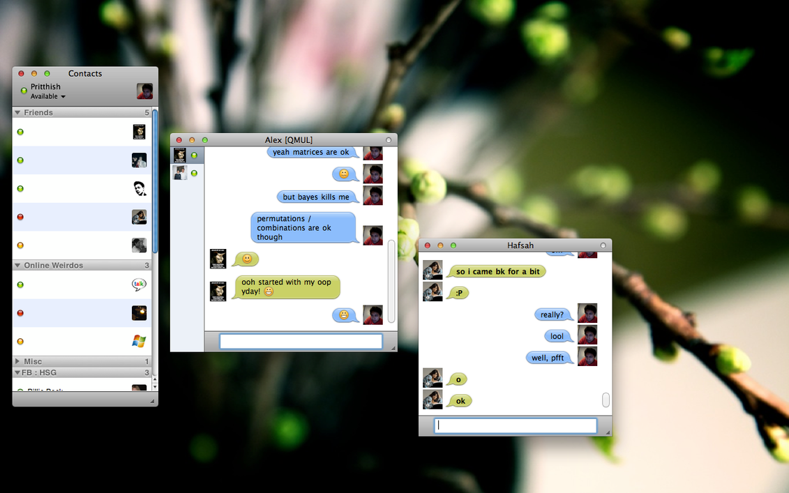AdiumyChat Preview 2 by pritthish