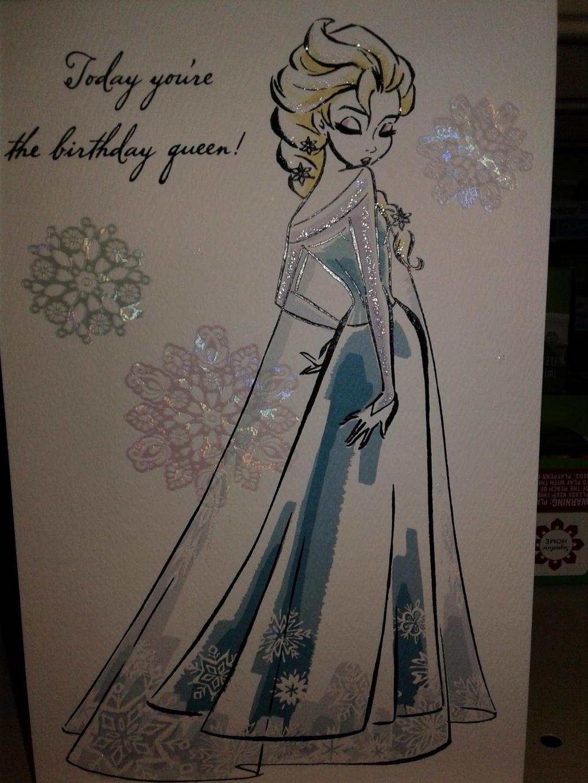 Disney Frozen Cards : beautiful Snow Queen part 2 by blueappleheart89