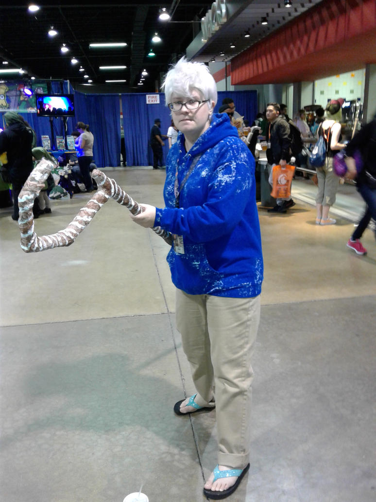 Anime Central 2017 Cosplay :  ROTG Jack Frost  2 by blueappleheart89