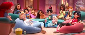 Wreck-It Ralph2: Disney Princesses modern world