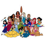 15 Disney Princess From Waerk it Ralph 2