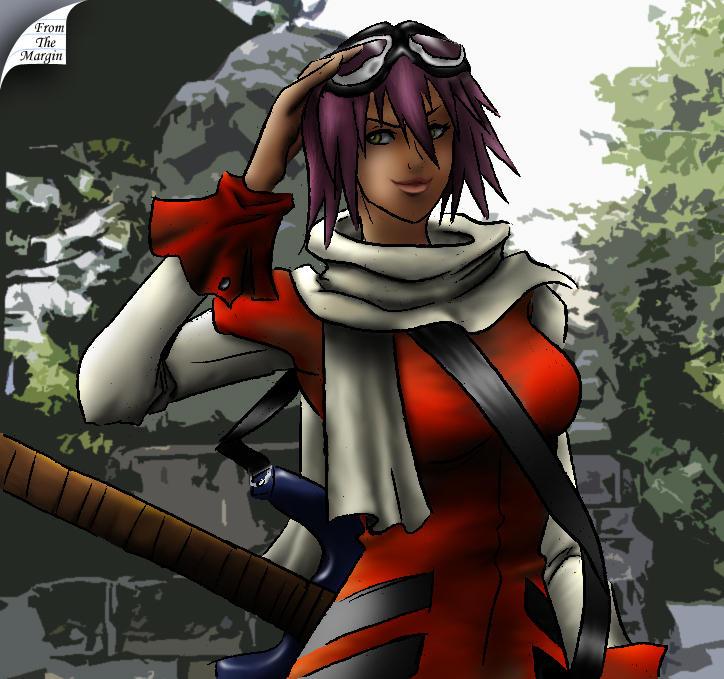 Haruko FLCL colored