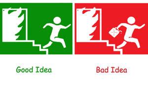 Good idea, Bad idea by fromthemargin