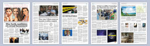 The Republiq  Newspaper Design
