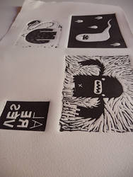 'Al reves' book prints_2 by beiko