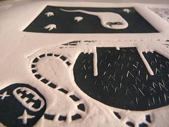 'Al reves' book prints_6 by beiko