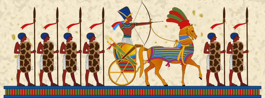 Ancient Egyptians At War   Pharaoh Wall Art By Tariqsobh ...