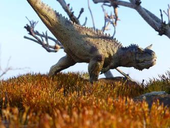 Grassland Strider by Gwyndor