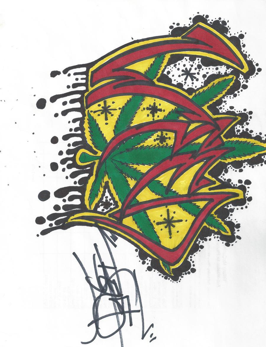 Graffitis Weed