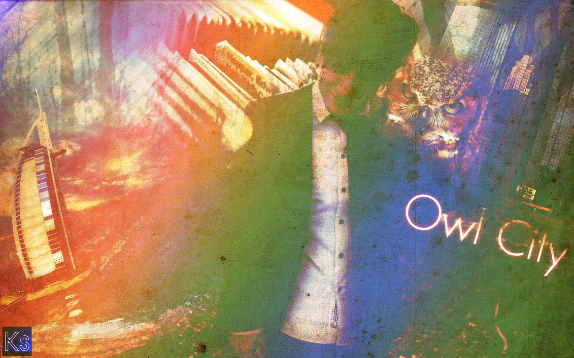 Owl City Wallpaper by KingShigakuri