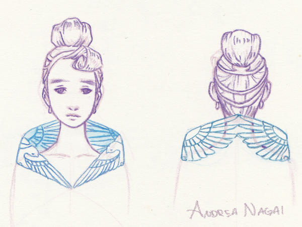 Cinderella sketch by YumeSprite