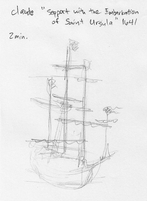 sketch LondonNatGal Ship by YumeSprite
