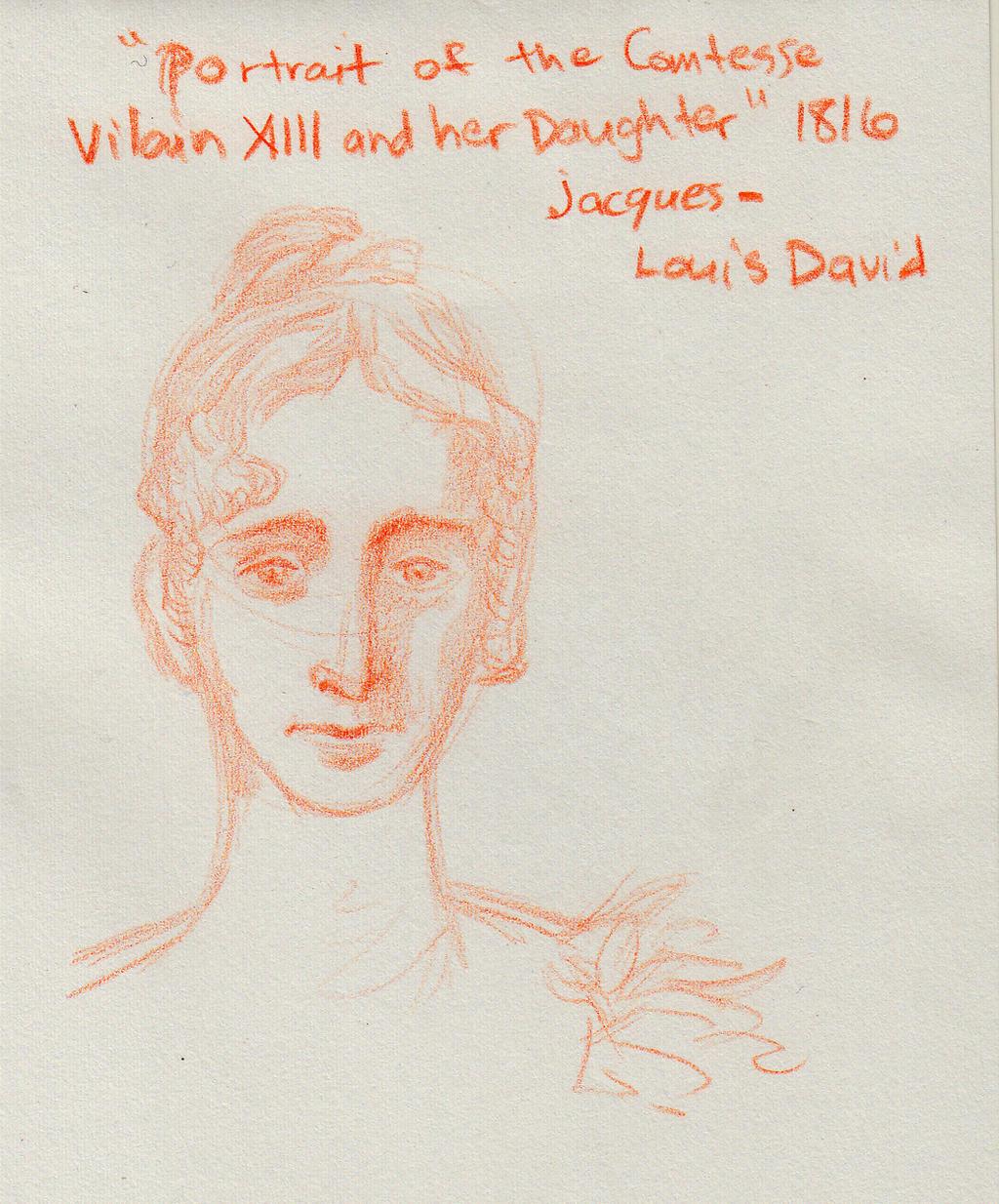 sketch LondonNatGal Portrait by YumeSprite