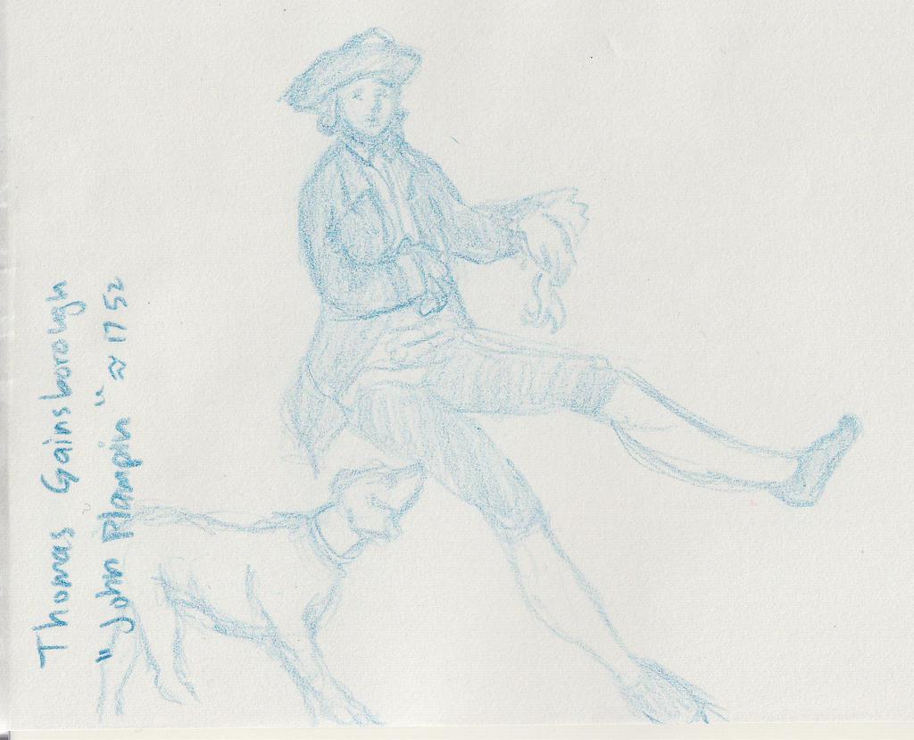 sketch LondonNatGal Dogman by YumeSprite