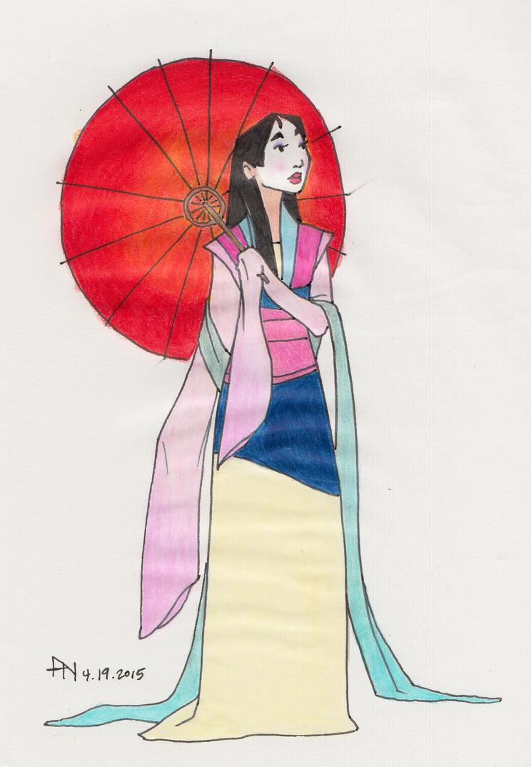Mulan by YumeSprite