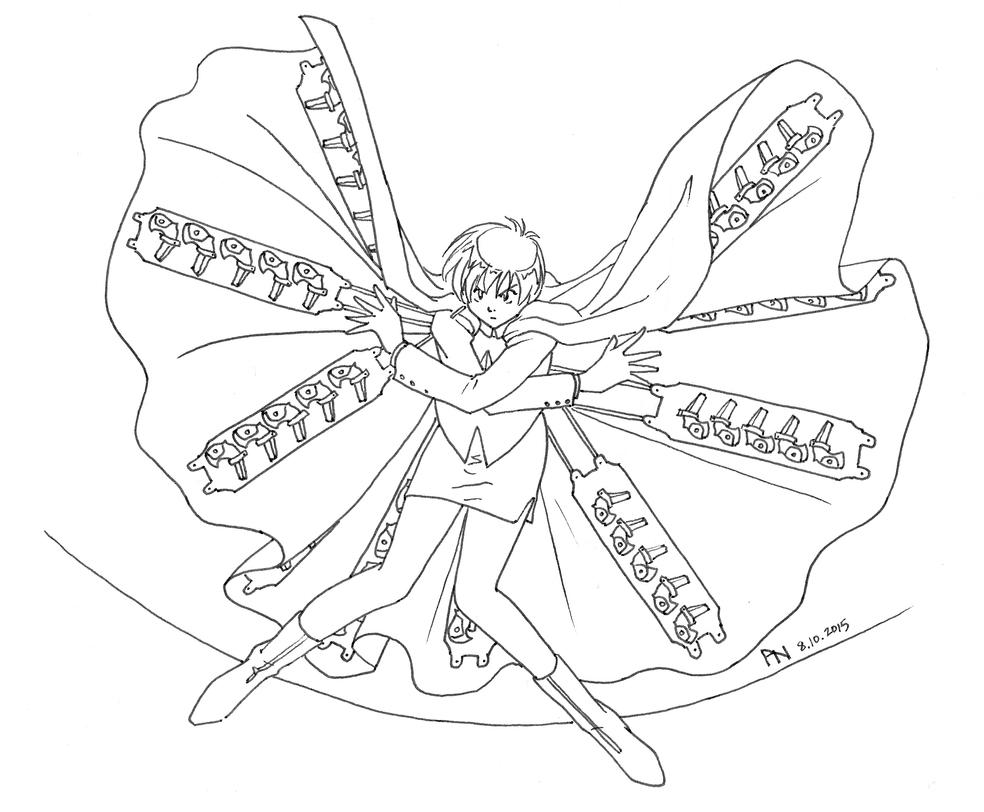 trigun coloring pages | Freeze Frame Sketch - Trigun Meryl by YumeSprite on DeviantArt