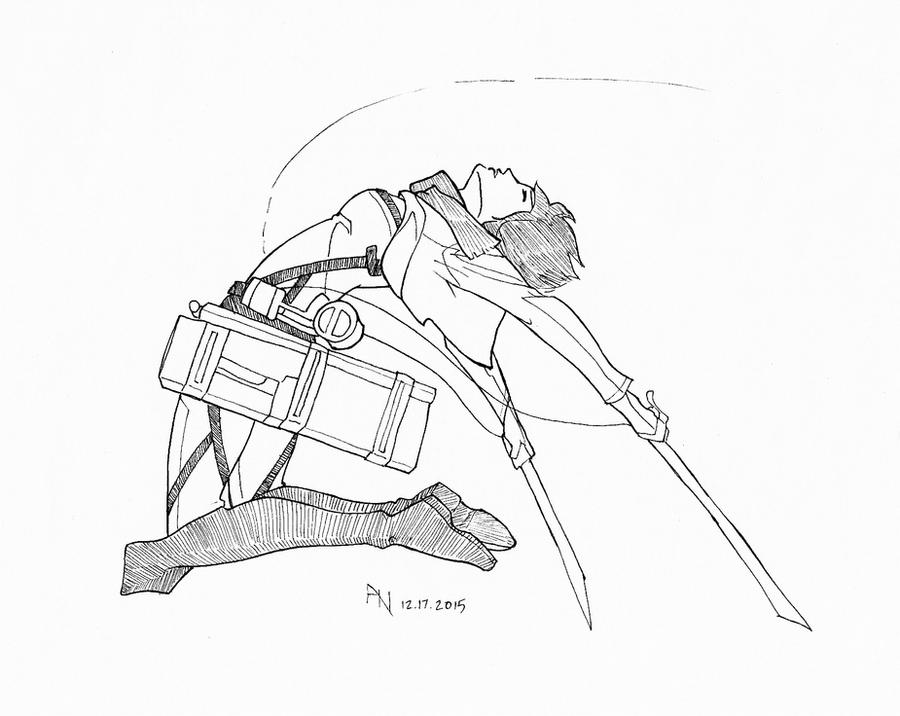 Mikasa - Beautiful Rage by YumeSprite