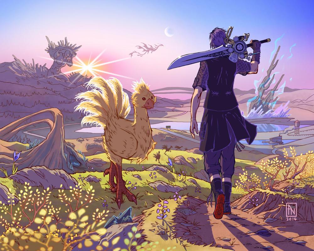 Final Fantasy XV by YumeSprite