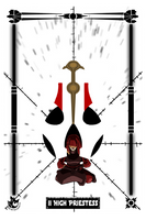 The High Priestess by scarletstatic